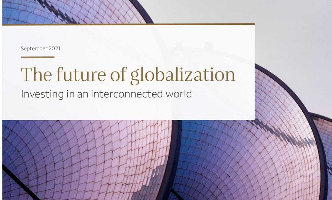 Cover image of The Future of Globalization brochure